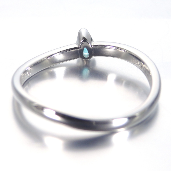 【SIND BAD(シンドバット)】婚約指輪 パライバトルマリン 0.065ct 指輪