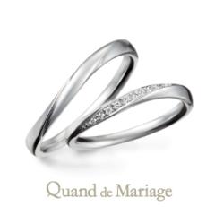 【Quand de Mariage(クワンドゥマリアージュ)】トゥジュール アンサンブル【いつも一緒】