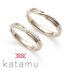 【Katamu(カタム)】縁 【えにし】 固く結ばれた ふたりの縁