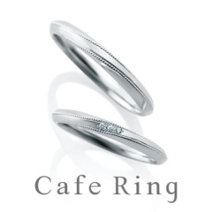 【ANNIVERSARY(アニバーサリー)】【テ・オ・レ】ミル打ちのラインとフォルムにこだわった結婚指輪