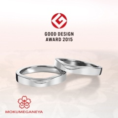 【JEWEL SEVEN BRIDAL(ジュエルセブンブライダル)】【杢目金屋】日本初!グッドデザイン賞受賞の結婚指輪