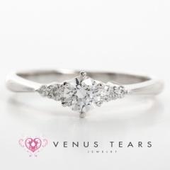 【VENUS TEARS(ヴィーナスティアーズ)】0.3ctダイヤ込価格Pt900【P424-03】