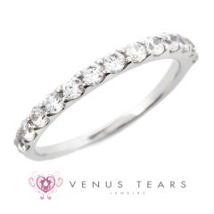 【VENUS TEARS(ヴィーナスティアーズ)】0.5ctダイヤ込価格Pt900【RV1710-05】