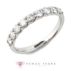 【VENUS TEARS(ヴィーナスティアーズ)】0.5ctダイヤ込価格Pt900【DDK463905-05】