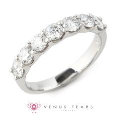 【VENUS TEARS(ヴィーナスティアーズ)】1ctダイヤ込価格Pt900【DDK463910-10】