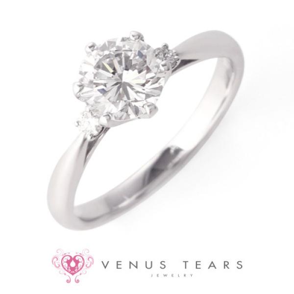 【VENUS TEARS(ヴィーナスティアーズ)】1ctダイヤ【ER-06-10】