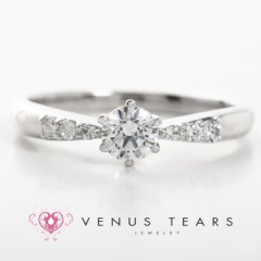 【VENUS TEARS Original(ヴィーナスティアーズオリジナル)】0.3ctダイヤ込価格Pt900【P535-03】