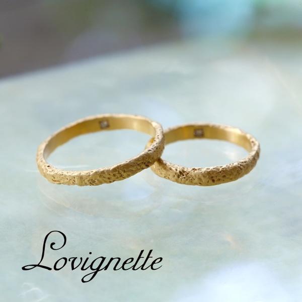 【Lovignette(ラヴィネット)】【ハンドメイド】ラヴィネットマリッジリング