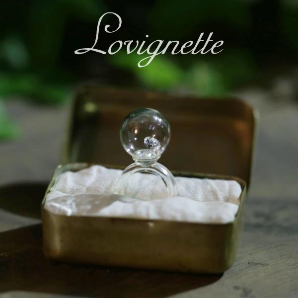 【Lovignette(ラヴィネット)】【手作り】LovinetteプロポーズリングNo,3