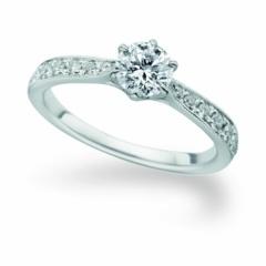 【パルテ熊本】○*。一生に一度の大切なリング…華やかなメレダイヤが特別な1本にぴったり○*。