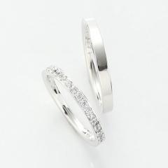 【パルテ熊本】*永遠に変わらない愛を17石のダイヤモンドが象徴*華やかなデザインが花嫁に人気*