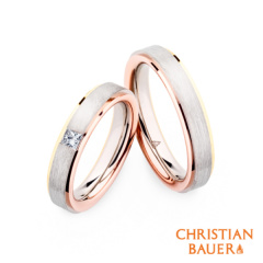 【kreis(クライス)】3色ゴールドとプリンセスダイヤが見事に融合された高いデザイン性が魅力【241578/274254】