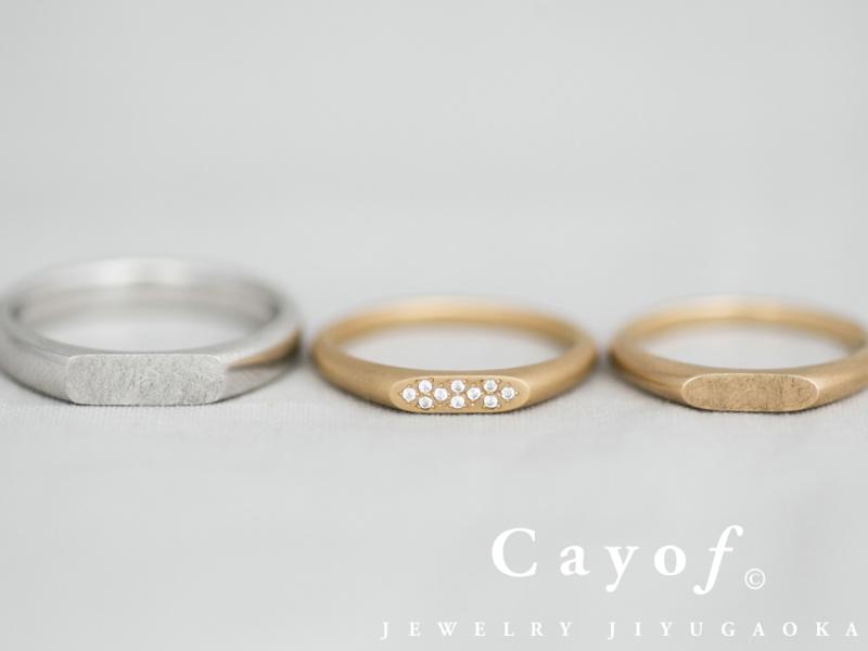 【Cayof(カヨフ)】-SHIRUSHI-Series Orange -オレンジ-