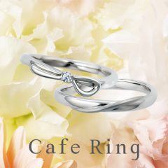 【Padou(パドゥ)】【ル・ルバン】さりげないリボンがキュートな結婚指輪