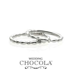 【troa accessories(トロアアクセサリーズ)】【CHOCOLA】チョコがテーマの指輪*CHOCOLA BALL マリッジ