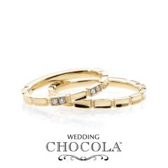【troa accessories(トロアアクセサリーズ)】【CHOCOLA】チョコがテーマの指輪*CHOCOLA BRICK マリッジ