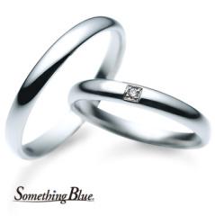 【troa accessories(トロアアクセサリーズ)】サムシングブルー マリッジリング
