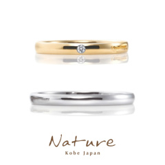 【troa accessories(トロアアクセサリーズ)】 【NATURE】Comfortable straight line-NW005