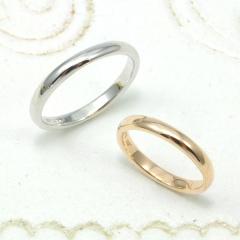 【Lovers&Ring(ラバーズリング)】LSR-0651PK,WG【シンプル好きの方にオススメ】