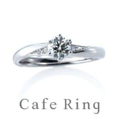 【ジュエリーIKEDA(池田時計店)】【プラージュ デュー】重ねづけも美しいエレガントな婚約指輪