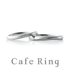 【ジュエリーIKEDA(池田時計店)】【ミエル】レディース・メンズお揃いのミル打ちが人気の結婚指輪