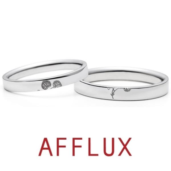 【ジュエリーIKEDA(池田時計店)】【1月号掲載中】ゆびわ言葉:繋がり結ぶ Auhi(アウヒ) 結婚指輪