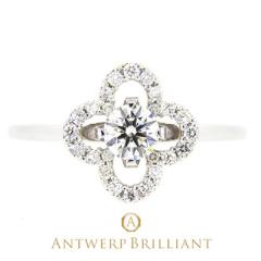 """【ANTWERP BRILLIANT(アントワープブリリアント)】""""grand-place"""" diamond surround ring """"グラン・プラス"""" ダイヤモンド サラウンド リング"""