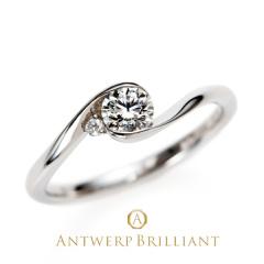 "【ANTWERP BRILLIANT(アントワープブリリアント)】ANTWERP BRILLIANT ""Full Moon"" Diamond Rim Setting Ring ""フルムーン"" ダイヤモンド リム セッティング リング"