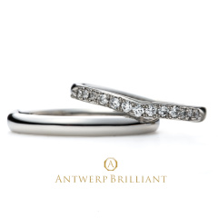 "【ANTWERP BRILLIANT(アントワープブリリアント)】Five Star Wedding Band Ring ""ファイヴ スター""ウエディングバンド  リング"