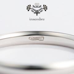 【insembre(インセンブレ)】リングの裏に隠れた「魔法の靴」!インセンブレのリングを身に着けておふたりのしあわせな未来へ歩き出そう!