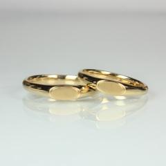 【Jewellery Craft ARAIYA】【結婚指輪】オーダーメイドリング1