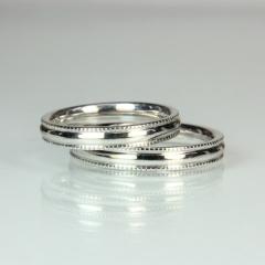 【Jewellery Craft ARAIYA】【結婚指輪】オーダーメイドリング3