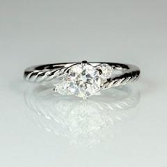 【Jewellery Craft ARAIYA】【婚約指輪】オーダーメイドリング12