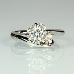 【Jewellery Craft ARAIYA】【婚約指輪】オーダーメイドリング13