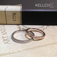 【KELLCH(ケルヒ)】オーダーメイド結婚指輪