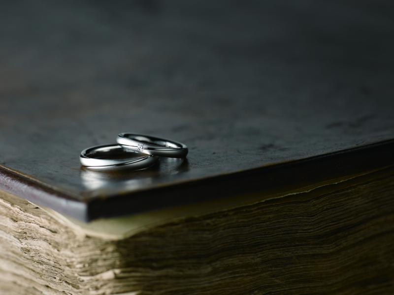 【Bridal salon Towage by OKADA本店】「プレッジ」PT999 ダイヤモンド鍛造マリッジリング