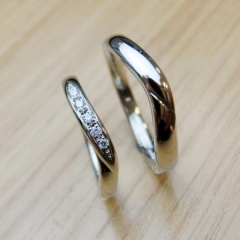 【手作り指輪工房 G.festa(ジーフェスタ)】ふたりで手作り結婚指輪】作る時間も心に残る想い出に!