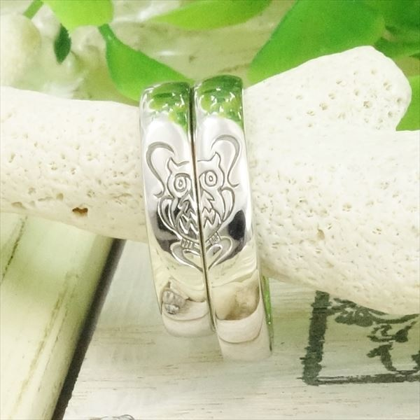 【ATELIER Hu・lala(アトリエ・ウララ)】【二人で手作り結婚指輪】いつまでも福に包まれますように・・・