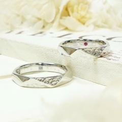 【ATELIER Hu・lala(アトリエ・ウララ)】【二人で手作り結婚指輪】自分たちだけのカタチにこだわったアーティスティック作品