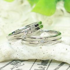 【ATELIER Hu・lala(アトリエ・ウララ)】【二人で手作り結婚指輪】フットサルにちなんだマリッジリング!
