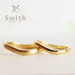 【Jewelry Smith(ジュエリースミス)】ふたりで作る手作り結婚指輪「日帰りコース」ウエーブリング