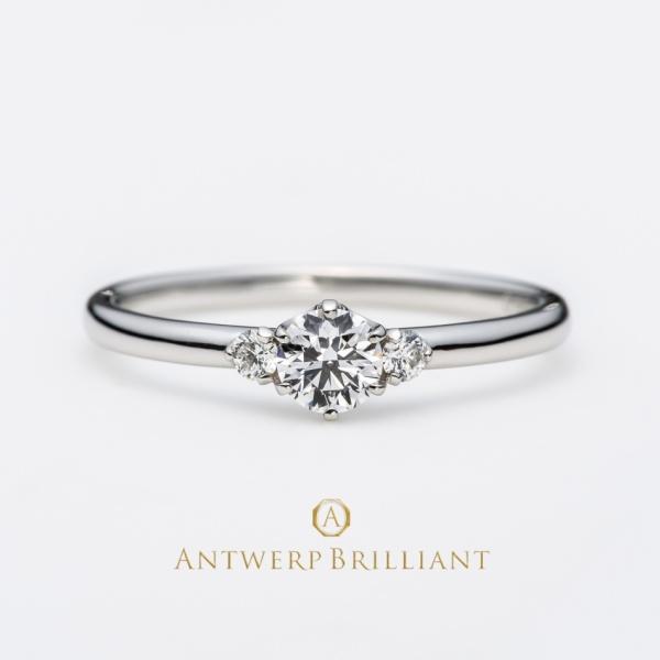 """【BRIDGE ANTWERP BRILLIANT GALLERY(ブリッジ・アントワープ・ブリリアント・ギャラリー)】""""Asterism"""" Three Stone Diamond Ring """"アステリズム"""" スリー ストーン ダイヤモンドリング"""