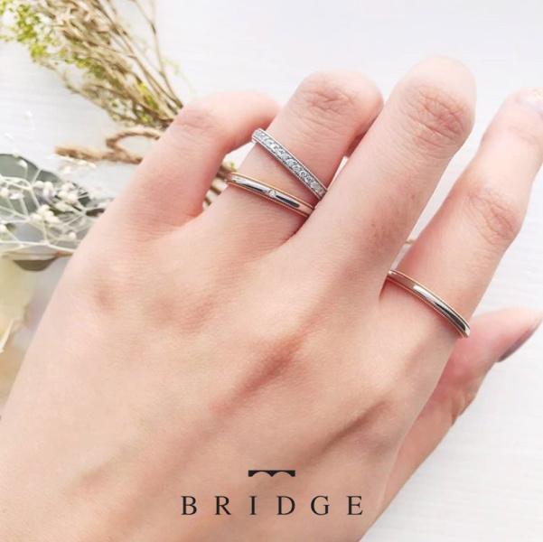 【BRIDGE ANTWERP BRILLIANT GALLERY(ブリッジ・アントワープ・ブリリアント・ギャラリー)】Riceshower GW/PT ライスシャワー 千の彩