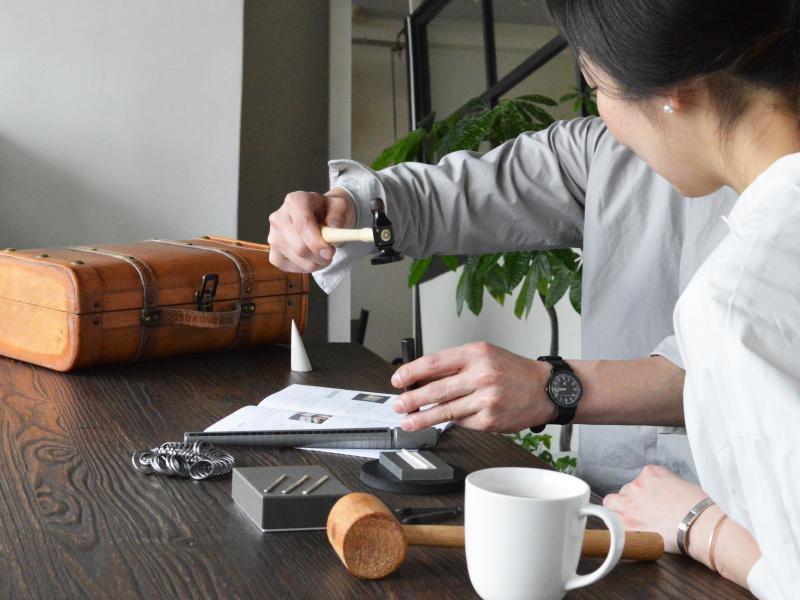 【renri(レンリ)】おうちで手作りできる結婚指輪キット『Uchi de no RING』