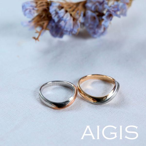 【AIGIS(旧:Jewel HAMA(ジュエルはま))】【NEW】オーダーメイドマリッジリング-25