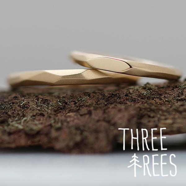 【THREE TREES(スリーツリーズ)】お互いの想いが形となった結婚指輪
