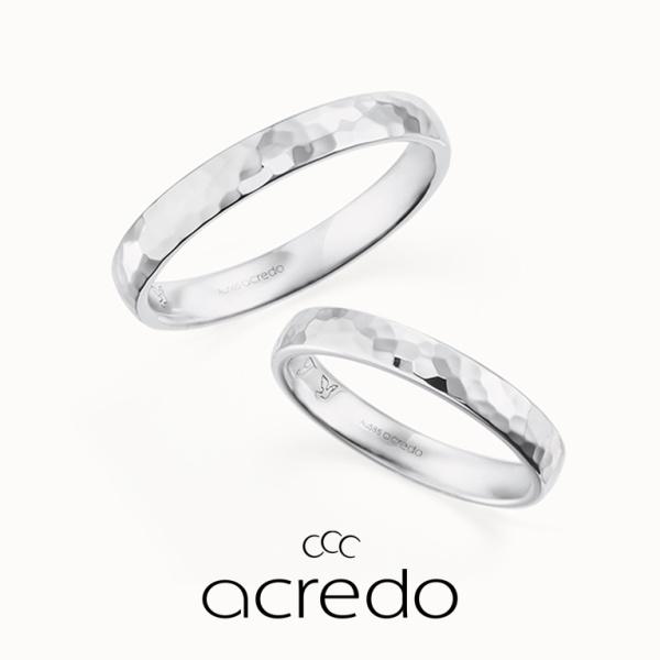 【acredo(アクレード)】【Luna di miele】水面のようなハンマーマット加工がかっこいい
