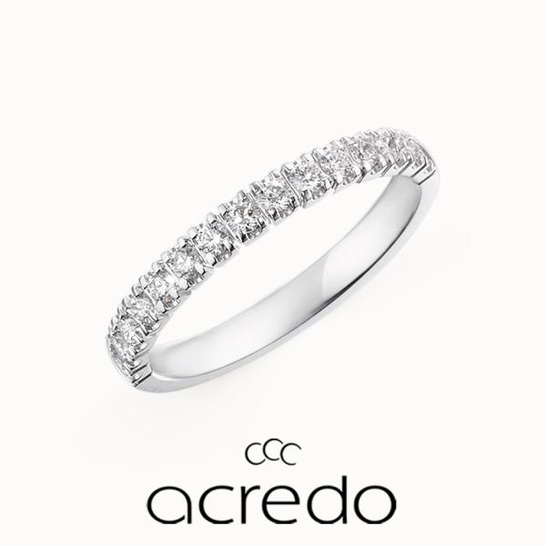 【acredo(アクレード)】どんな結婚指輪にも合うと大人気のエタニティリング