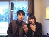 自分たち唯一の指が出来て嬉しいです。大切にします。 〜ichi銀座店〜
