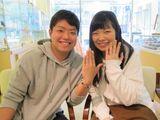 「指輪と共にこれから2人で幸せな家庭を築いていきます。」